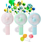 Portable Kids Toys Manual Hand Mini Fan Handheld No Battery Cooler Cooling Gift