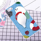 For Samsung Galaxy Squishy Cover 3D Silicone Case Finger Pinch Cat Phone Shell