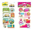 NAME LABELS Stickers - Personalise & Decorate Books, Folders, Lunch Boxes etc