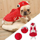 Halloween Pet Dog Puppy Funny Cosplay Goldfish Costume Chihuahua Jacket Coat 1Pc
