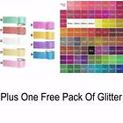 Glitter Washi Tape Decorative Masking Paper Adhesive plus 1 FREE pack of GLITTER