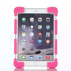 """Fashion US Luxury Shockproof Silicone Stand Case for 10"""" 9.7"""" Universal  tablets"""