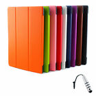 """Smart Tri-Fold Cover Case For 10.1""""Lenovo Tab2 A10-30 Tablet + Stylus S"""