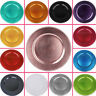 "BEADED CHARGER 13"" PLATES 6 pcs Wedding Party Disposable TABLEWARE Decorations"