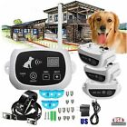 Wireless 1/2/3 Dog Fence Pet Containment System Rechargeable Training Collar SK