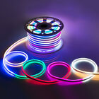 WYZworks Multi RGB Flexible Waterproof Soft Double Sided LED Rope Light Strip