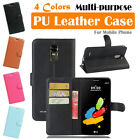 LG Stylo 3 Plus TP450 MP450 Leather Case PSC Cover Card Pouch Wallet Stand Folio