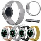 Milanese Loop Wrist Watch Strap Band + Connector for Samsung Gear S2 SM-R720