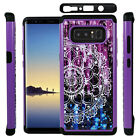 For Galaxy Note 8 Shockproof Hybrid Hard Diamond Bling Case Phone Cover
