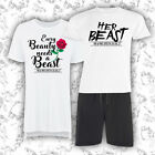Beauty and the Beast Matching Loungewear Pyjamas PJ Set - Newlywed Wedding Gift