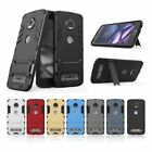 Heavy Duty Tough Protective Phone Case Kickstand Cover For Moto G5/Z2 Play/G4