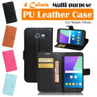 Samsung Galaxy J327 / Express Prime 2 Leather Case PSC Cover Skin Wallet Stand