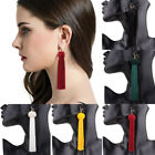 Us Women Fashion Tassel Earrings Yellow Black Red Long Drop Earrings Jewelry