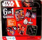 Star Wars The Force Awakens 6 in 1 Collector Tin Board Game Brand New Sealed