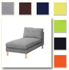 Custom Made Cover Fits IKEA Karlstad Chaise Lounge, Free-Standing Chaise Cover