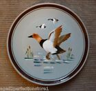 """Vintage STANGL Pottery Plate Charger - """"CANVAS BACK"""" 2 Trenton NJ bird duck"""