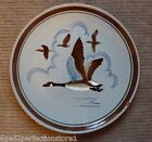 """Vintage STANGL Pottery Plate Charger - """"CANADA GOOSE"""" Trenton NJ bird duck"""