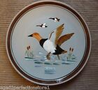 """Vintage STANGL Pottery Plate Charger - """"CANVAS BACK"""" 3 Trenton NJ bird duck"""