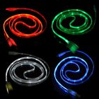Light-up LED Multicolor Glowing Type-C USB-C 3.1 Date Sync Charging Cable Cord