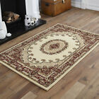 LARGE BEIGE ELEGANT CLASSIC TRADITIONAL MODERN 200 X 290 CM AREA RUGS FOR SALE