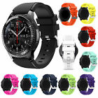 Fashion Sports Silicone Strap Band For Samsung Gear S3 Classic Frontier+ 2x Pins