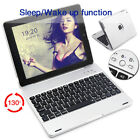 Gift For iPad 4 3 2 Bluetooth Keyboard With Power Bank Clam Shell Case Cover HOT
