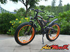 "Addmotor MOTAN Electric Bike Bicycle 48V 750W 26"" Fat Tire 11.6Ah Lithium E-Bike"