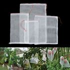 50x Garden Plant Fruit Protect Drawstring Net Bag Mesh Against Insect Pest Bird