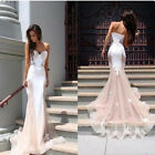Women Sexy Long Lace Evening Formal Party Cocktail Bridesmaid Prom Gown Dress Ne