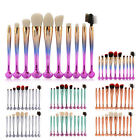 Pro 10Pcs Shell Professional Makeup Brush Set Powder Cosmetic Foundation Brush