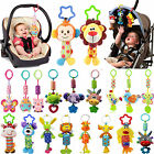 Baby Infant Rattles Plush Animal Stroller Hanging Bell Play Toy Doll Soft Bed NT