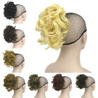 Wavy Curly Magic Flexible Hairband Pony Tail Short Ponytail Wrap Hair Extensions