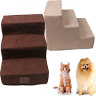 Portable Animal Dog Step High Bed 3 Steps Pet Stairs Small Dogs Cats Ramp Ladder