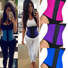 Latex Rubber Body Shaper Corset Underbust Waist Cincher Slimming Shapewear Belt