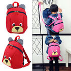 Baby Kids Toddler Walking Safety Harness Strap Anti-lost Leash Cartoon Bear Bag