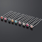 Bridal Hair Pins Pearl Flower Crystal Wedding Accessories