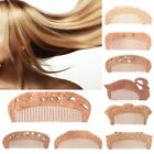 Natural Peach Wood Healthy No-static Massage Hair Wooden Comb Health Care