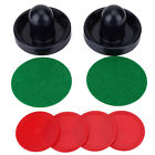 Plastic Ice Hockey 2 Pushers Goalies and 4 Pucks Felt Set For Tables Game GD