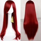 Fashion Curly Full Wig Women Girls Anime Costume Cosplay Synthetic Hair Ombre H4