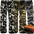 Stylish Men Warm Army Cargo Camo Camouflage Work Windproof Trousers Winter Pants
