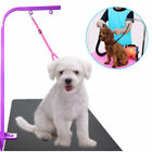 Pet Dog Cat Grooming Table Arm Bath Adjustable Restraint Rope Harness Noose Loop