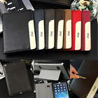 Luxury Soft Leather Smart Case Stand Magnetic Cover for iPad Air 1/2 mini 1/2/3