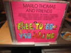 MARLO THOMAS & FRIENDS Free To Be...You & Me CD NEW