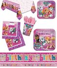 NEW PAW PATROL Pink Birthday Party Girls Tableware Balloons Sky Zuma Decorations