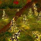 Warm White Battery Metal LED Fairy String Lights Christmas Party Bedroom Decor