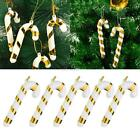 Home Decor Christmas Tree Red Gold Hanging Ornament Decoration EN24H