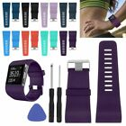 Replacement Wristband Band Strap Clasp Buckle Tool Kit For Fitbit Surge Band S/L