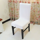 4/6/8PCS Removable Stretch Slipcovers Dining Room Bench Seat Chair Cover Decor