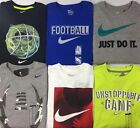 Boy's Youth Nike Athletic Cut Cotton Long Sleeve Shirt