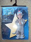 Too Cute To Spook Chid Baby Sock MONKEY Halloween Costume With Hat 12-18 Months